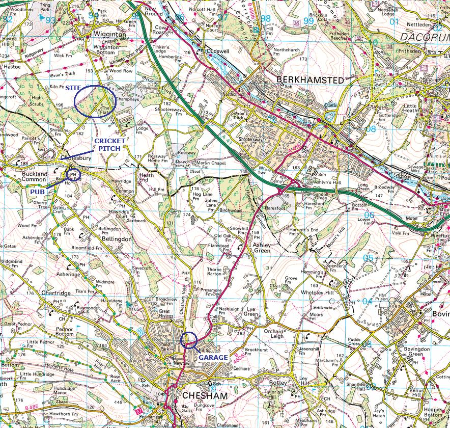 Tring Map